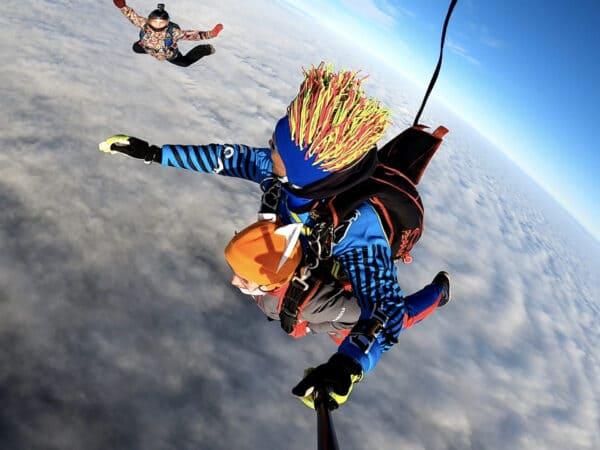 Фото-видеосъемка вашего прыжка с парашютом
